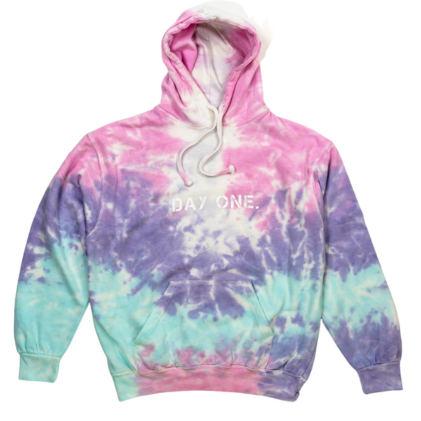 Cotton Candy Tie-Dye Hoodie (Unisex)