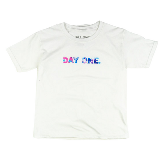 Cotton Candy Tie-Dye Logo Tee (Youth)