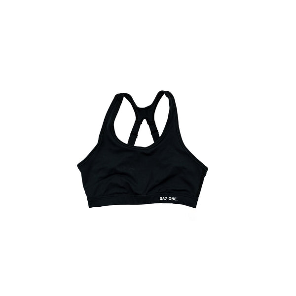 Distressed Main Logo Sports Bra