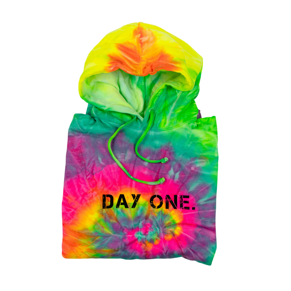 Mint Fusion Tie-Dye Hoodie (Youth)