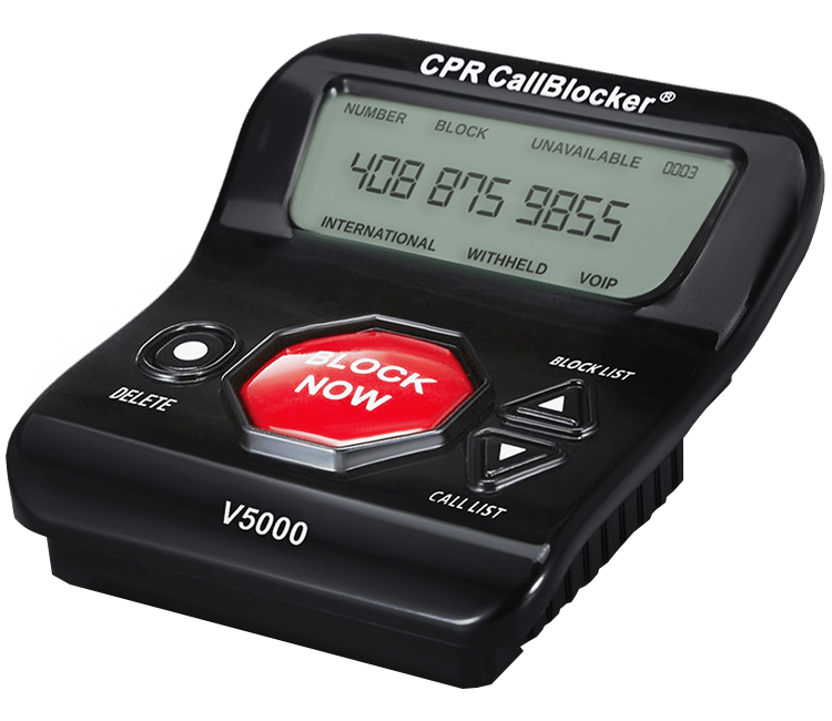 CPR Call Blocker V5000-