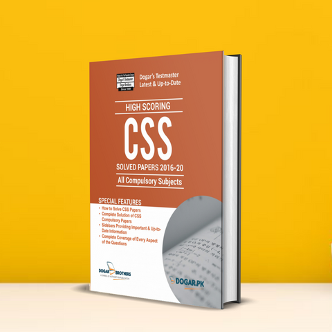 CSS Solved Past Papers 2016-2020