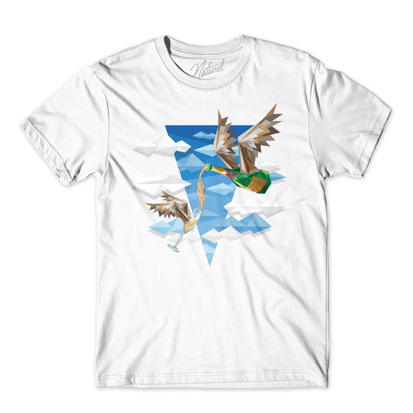 """BIRD'PAGNE"" Short sleeve t-shirt"