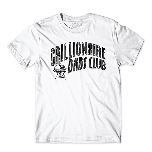 """GRILLIONAIRE DADS CLUB"" Short sleeve t-shirt"