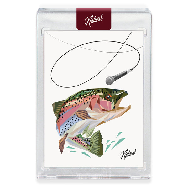 """MIC TROUT""  Companion Card"
