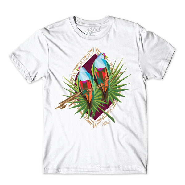 """Totot Bird"" S/s White Tee Shirt"