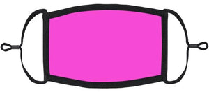 YOUTH SIZE - Pink Fabric Mask