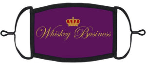 """Whiskey Business"" Fabric Face Mask"