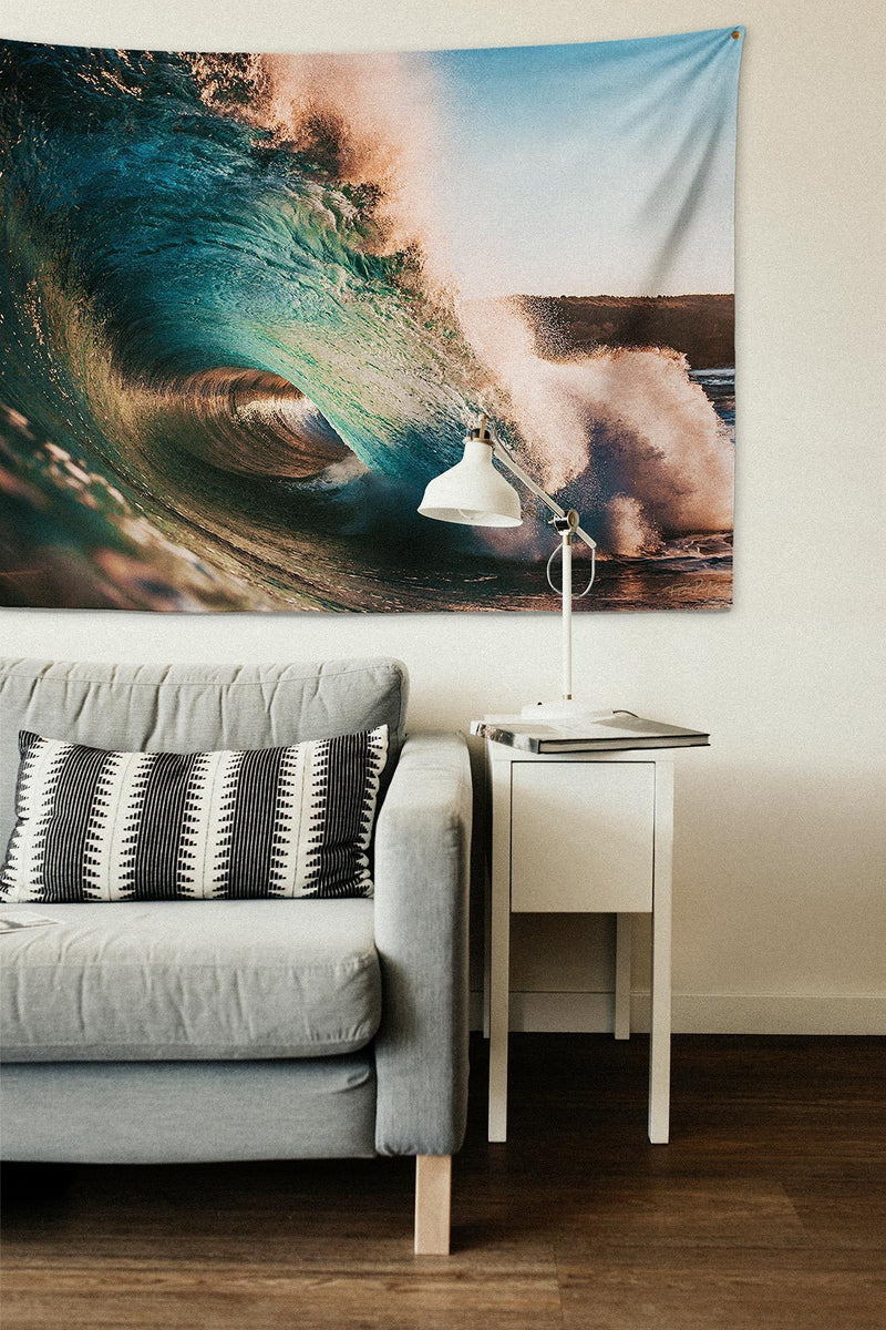 Sunset Wave — Wall Tapestry