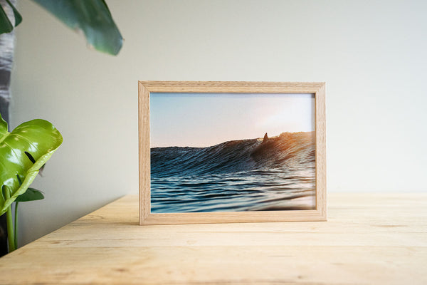 """Sunday Surf"" Framed Print"