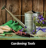 picture of beautiful old Gardening Tools