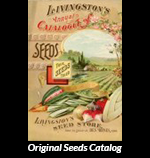 Original Livingston Seeds Catalog cover