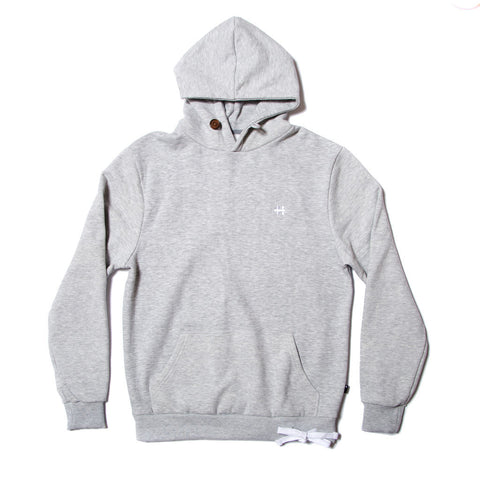 Wits Close Ties Hoody - Heather Grey - Long Island Sole Supply - 1