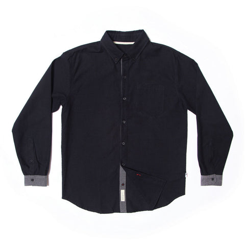 Wits Concrete Shirt - Black - Long Island Sole Supply - 1