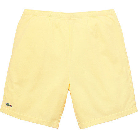 Supreme/Lacoste Pique Short - Light Yellow