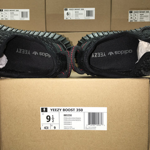 black/red adidas yeezy boost 350 v2 cp9652 Fake Vs Original