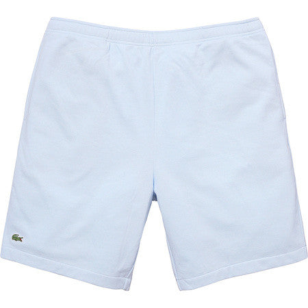 Supreme/Lacoste Pique Short - Light Blue