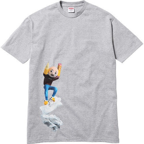 Supreme/Mike Hill Regretter Tee - Heather Grey