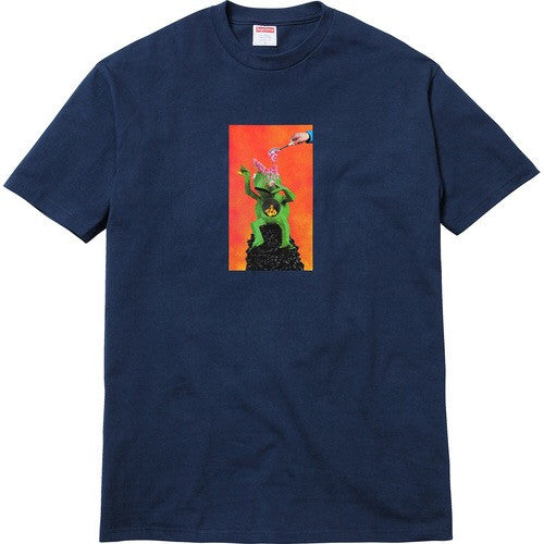 Supreme/Mike Hill Brains Tee - Navy