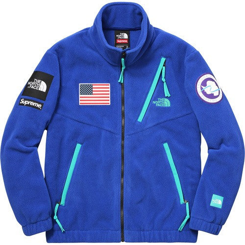 Supreme/The North Face Trans Antarctica Expedition Fleece Jacket - Royal