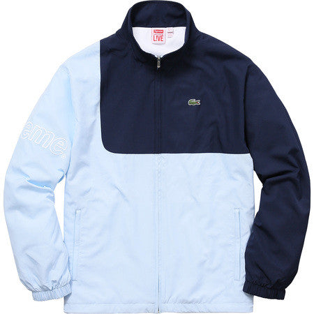 Supreme/Lacoste Track Jacket - Light Blue