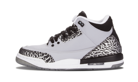 "Air Jordan 3 Retro (BG) ""Wolf Grey"""