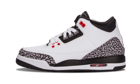 "Air Jordan 3 Retro (BG) ""Infrared"""
