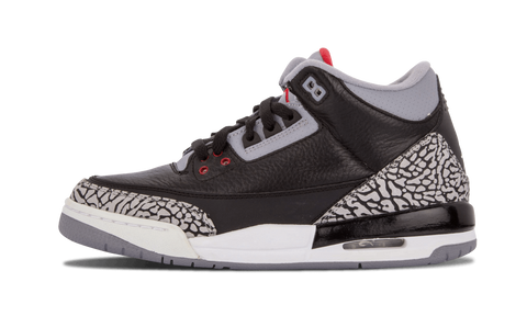 "Air Jordan 3 Retro (GS) ""Black Cement"""