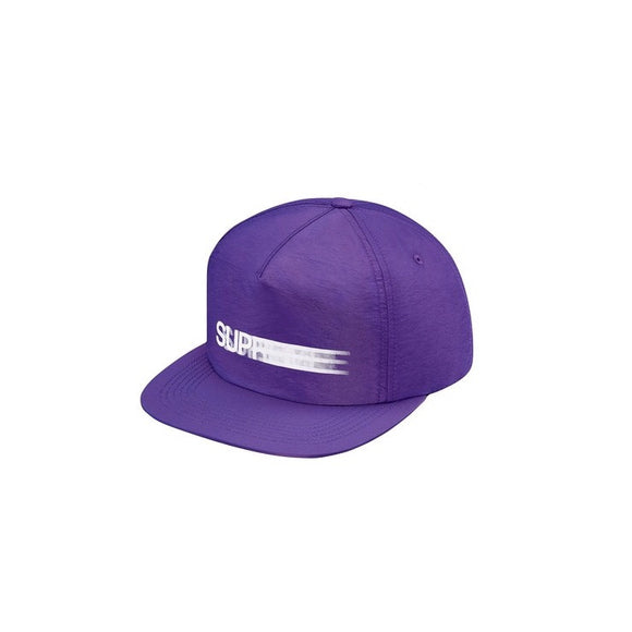 Supreme Motion Logo Iridescent 5 Panel - Purple