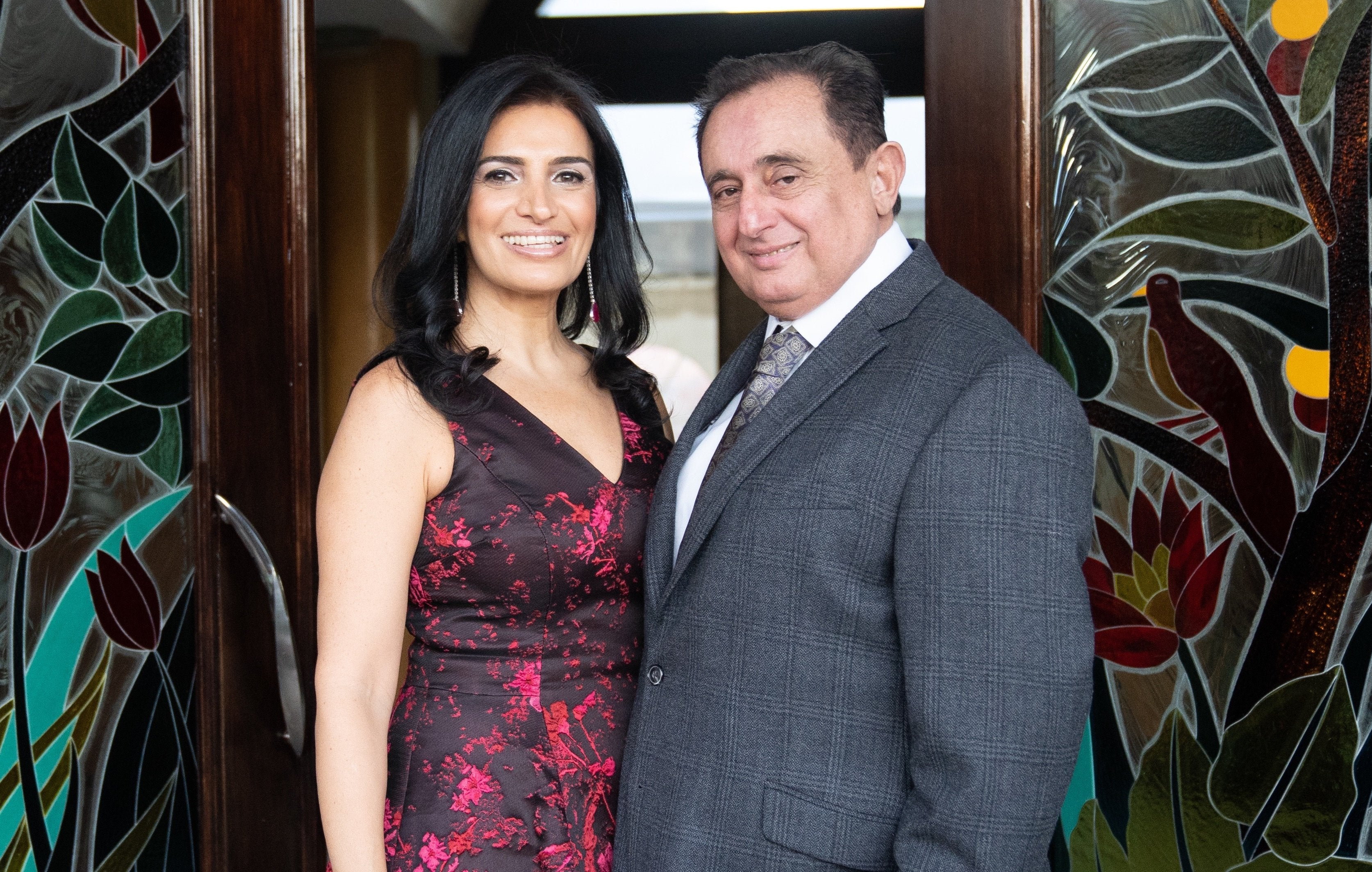 Betty and Albert Hakimian founders of Alberto Collections
