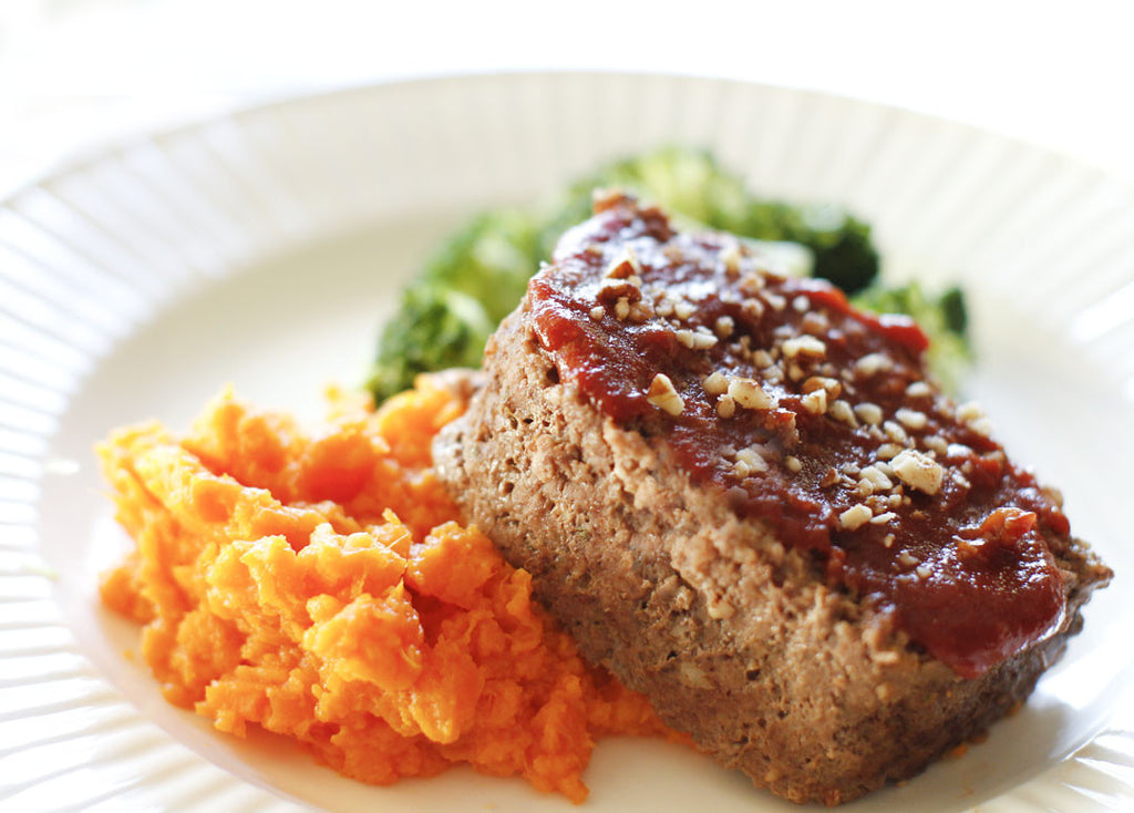 Pecan Crusted Meatloaf