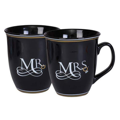 Mr and Mrs Happily Ever After Mug Set