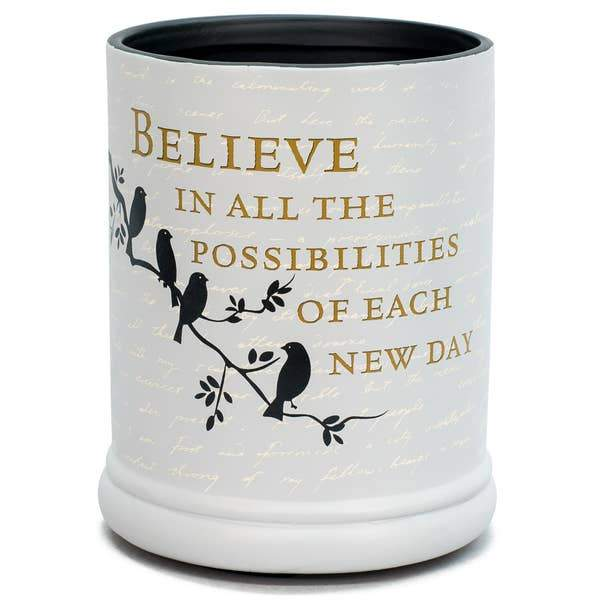 Believe Jar Candle Warmer - The Candle Shack
