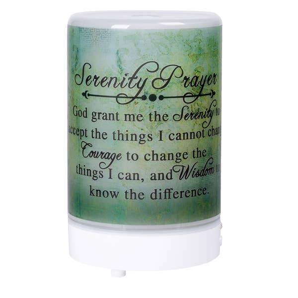 Serenity Prayer God Grant Me Diffuser - The Candle Shack