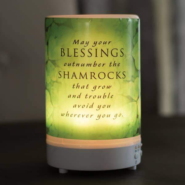 May Your Blessings Outnumber The Shamrocks Diffuser