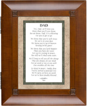 Load image into Gallery viewer, Cottage Garden Dad We Will Miss You Wood-grain Remembrance Keepsake Box - The Candle Shack