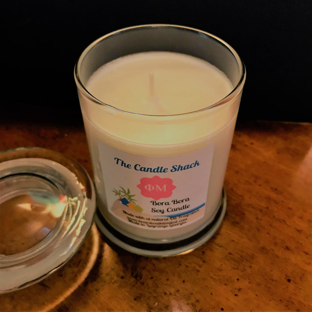Soy Candle 8 oz - The Candle Shack