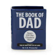 "Load image into Gallery viewer, Book Of "" DAD"" or MOM"" Holder - The Candle Shack"