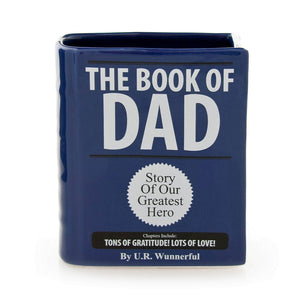 "Book Of "" DAD"" or MOM"" Holder - The Candle Shack"