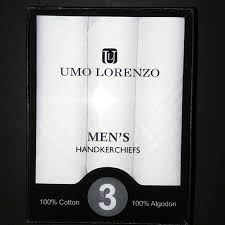Umo Lorenzo Men's Hankerchiefs - The Candle Shack