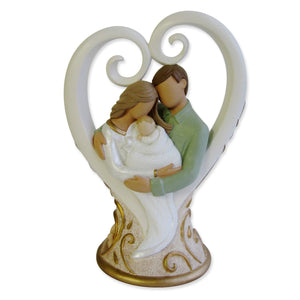 "Legacy of Love Family Figurine, 5.125"" - The Candle Shack"