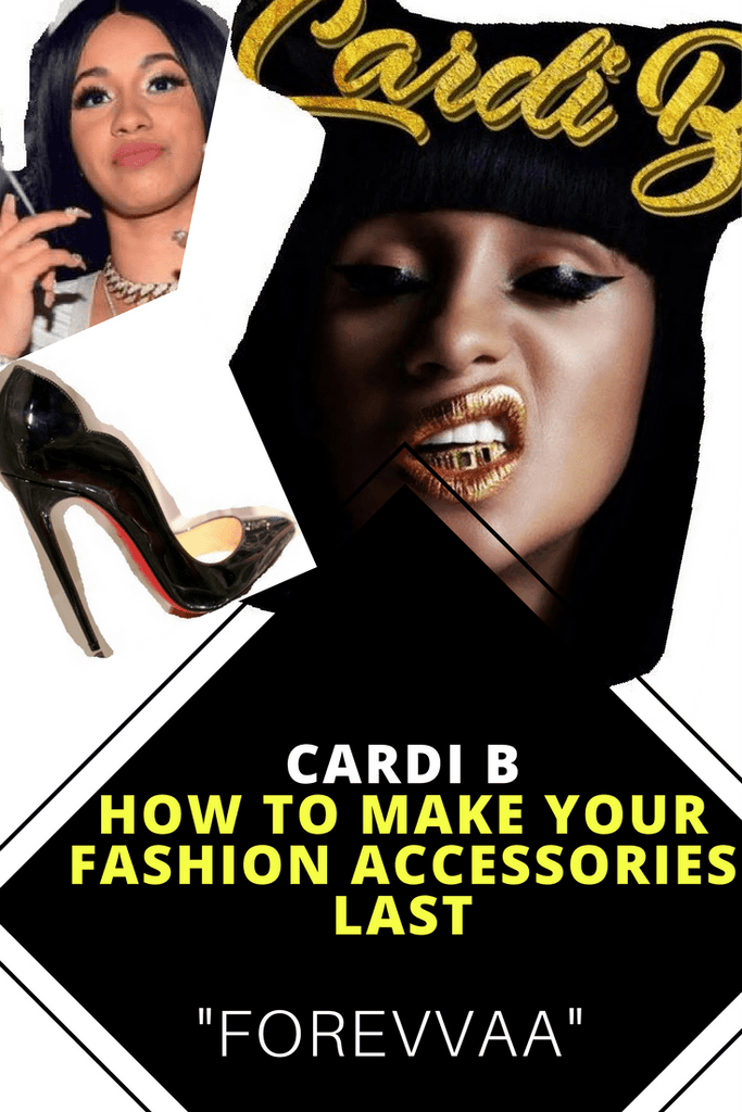 Cardi B - How to Make Your Fake Fashion Jewelry Accessories Last Forevvaa...