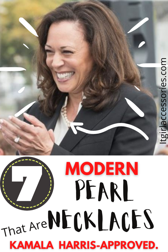 The Kamala Harris Pearl Necklace TAKEOVER | 7 Modern Picks That Look Nothing Like Grandma's