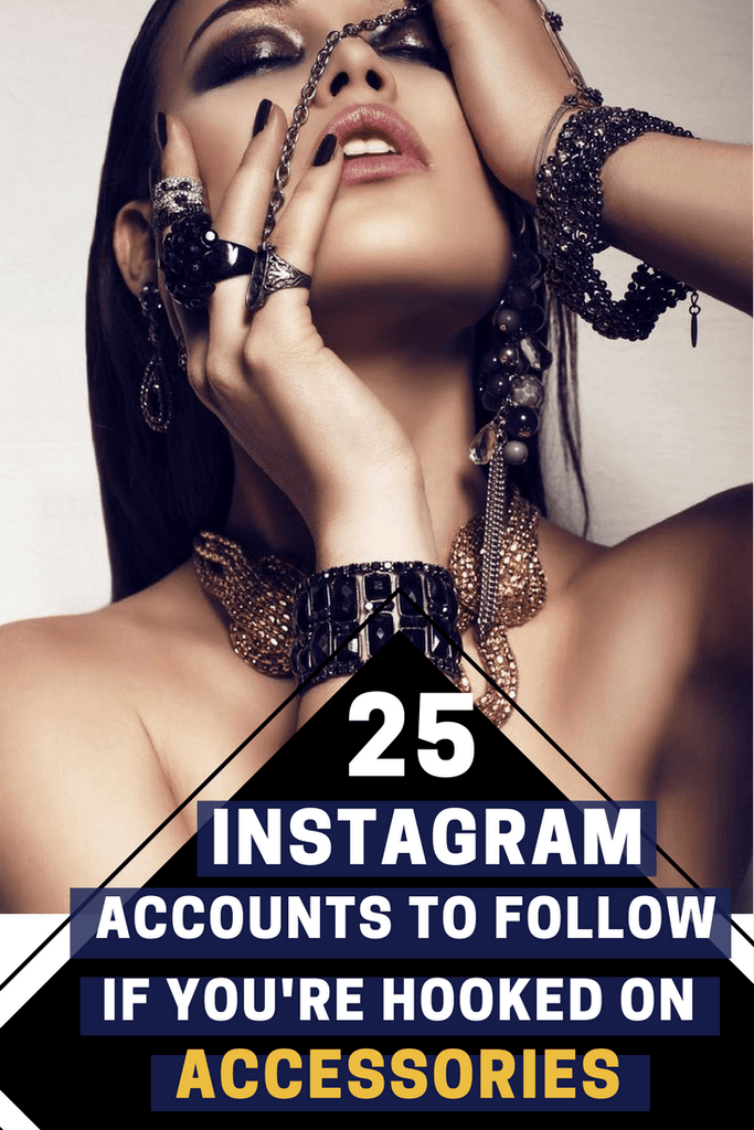 best fashion accessories accounts on Instagram
