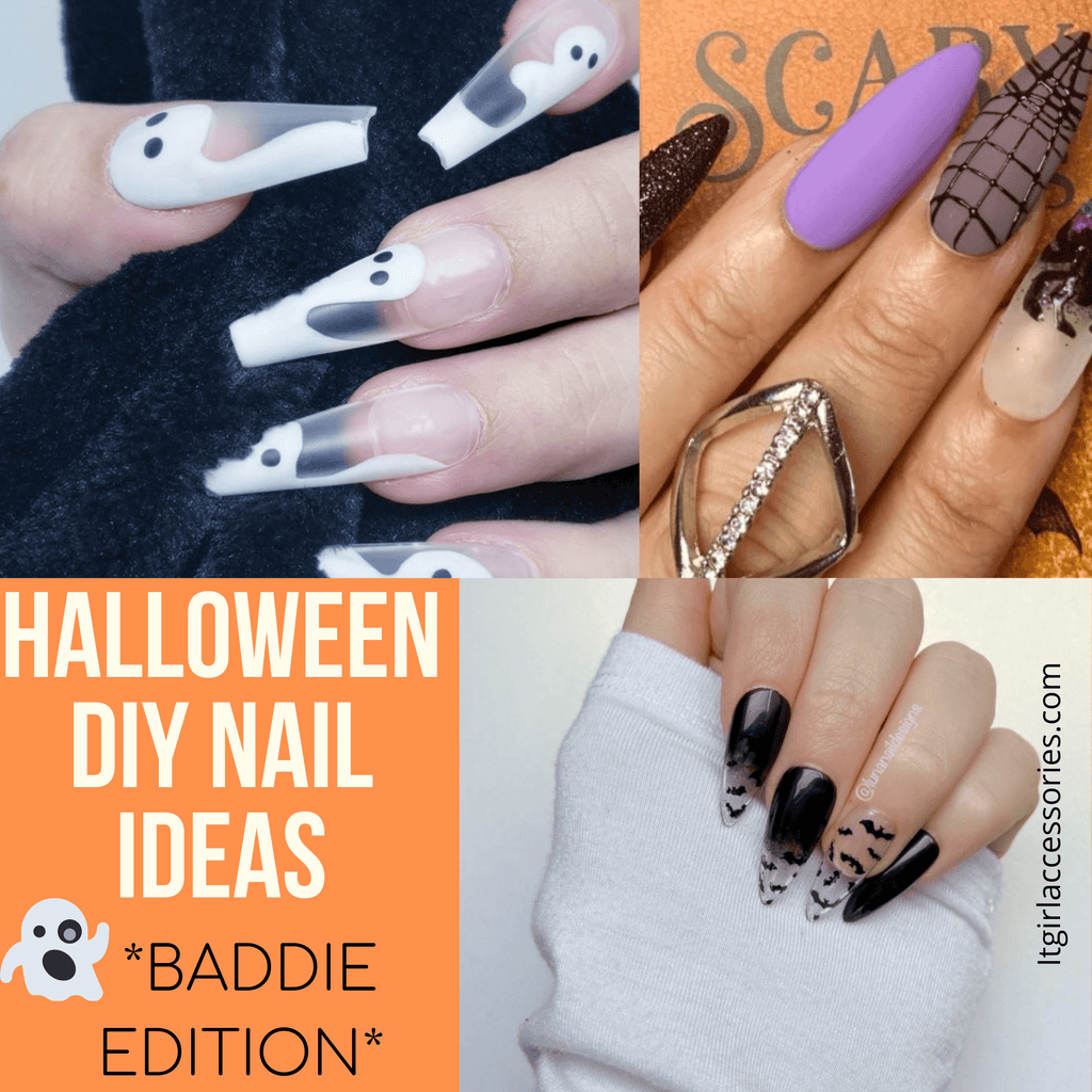 10 EASY Baddie DIY Halloween Nails---That Will Have You SHOOK