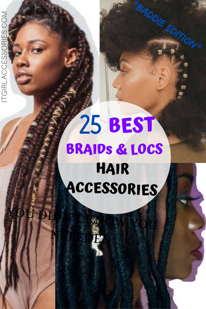 BEST 25 Hair Accessories for Braids and Locs THAT HIT DIFFERENT for Baddies