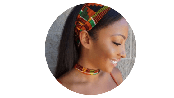 baddies hairstyles kente headband