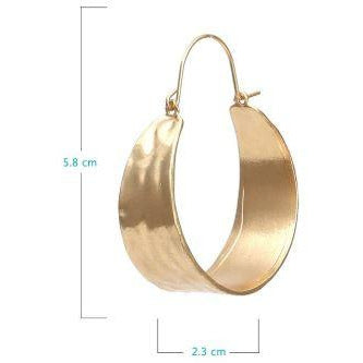 SHIFTY - HOOP EARRINGS - Itgirl Accessories Store