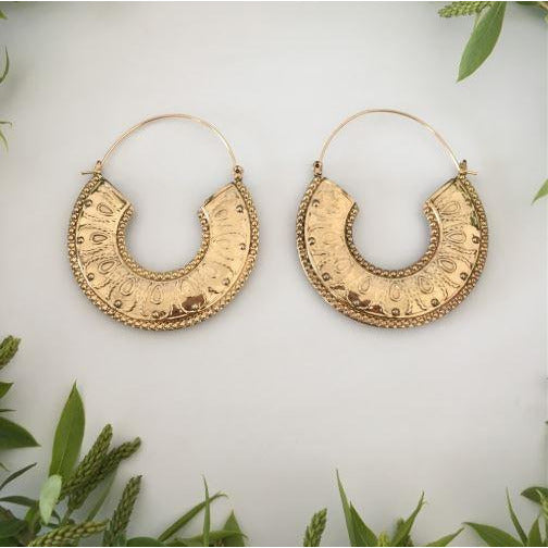 BOHO HOOP EARRINGS - Itgirl Accessories Store