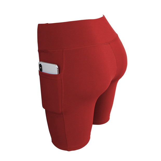 Red Women's Lounge Shorts